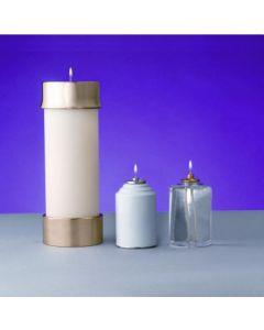 "Lux Mundi 3 1/2"" Diameter Candle Shells"