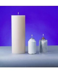 "Lux Mundi 4 1/2"" Diameter Candle Shells"