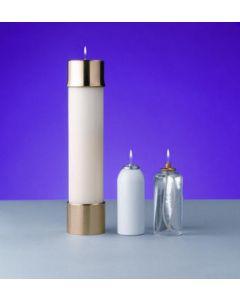 "Lux Mundi 2 5/8"" Diameter Candle Shells"