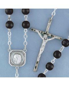 Rosary Black Wood 6mm