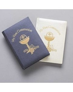 First Communion Deluxe Prayer Book- Girl