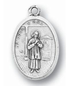 Saint John Vianney Oxidized Medal