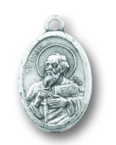 Saint Paul Oxidized Medal