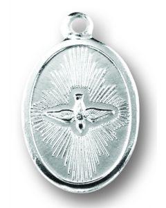 Holy Spirit Oxidized Medal