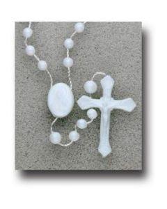 Plastic Bead Rosary
