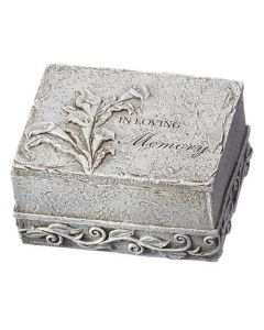 Memorial Box with Flower