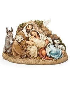 """9.5"""" Holy Family at Rest"""