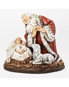 "8"" Kneeling Santa"