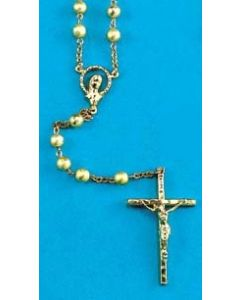 Rosary - Gold Plated Bead