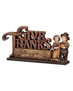 Give Thanks Pilgrim Statue