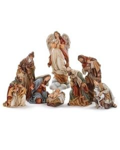 "17"" Nativity 7 pc"