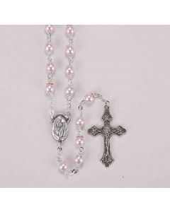Rosary Light Pink Pearl