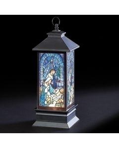 Holy Family Swirl Lantern