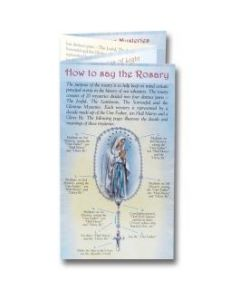 How to Pray the Rosary Folding Pamphlet