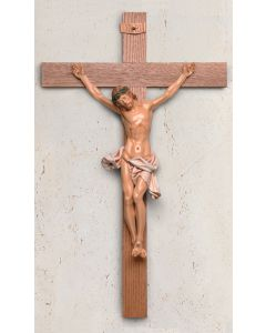 "35"" Crucifix with PVC Corpus"