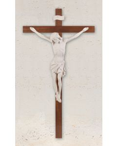 "45"" Crucifix White Corpus"