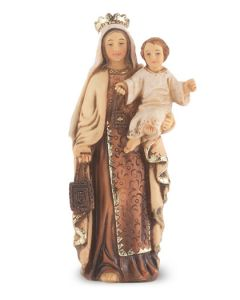 "Our Lady of Mt. Carmel 4"" Statue"