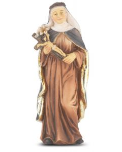 "St. Catherine of Siena 4"" Statue"