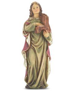 """St. Cecilia 4"""" Statue"""