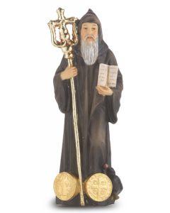 """St. Benedict 4"""" Statue"""