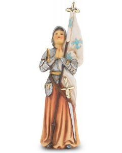 "St. Joan of Arc 4"" Statue"