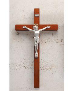 """12"""" Rosewood Crucifix"""