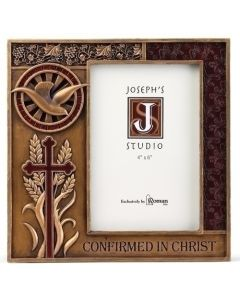 Confirmation Frame 4x6 Bronze Finish