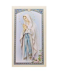 Oracion a Nuestra Senora de Lourdes