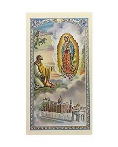 Palabras de Nuestra Senora de Guadalupe