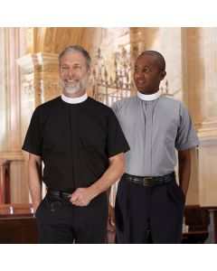 Neckband Clergy Shirt