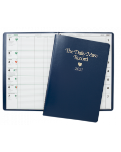 Daily Mass Record Book