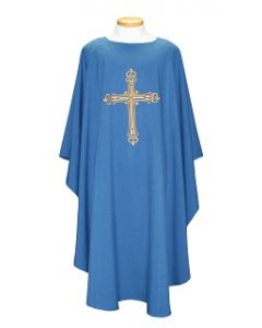 Chasuble with Lg Gold Cross