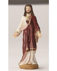Sacred Heart of Jesus Resin Statue