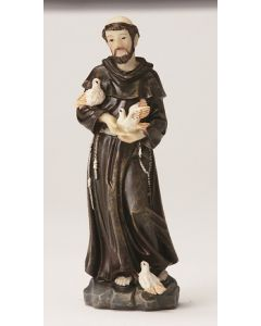 St. Francis Resin Statue
