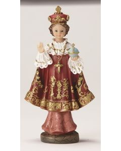 Infant of Prague Resin Statue