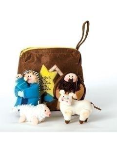 6 Pc. Fabric Nativity Set