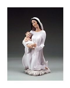 Armani St. Joseph/Mary/Jesus 2pc White