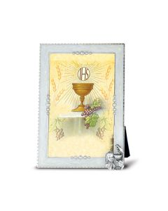 Pearlized Communion Frame Girl