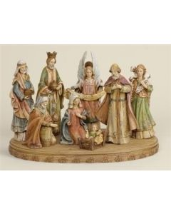 Nativity Set with Base