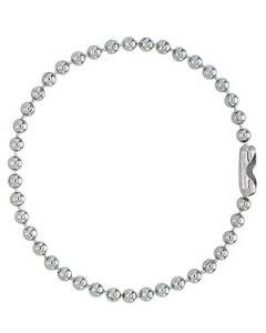 Bead Ball Oxidized Chain