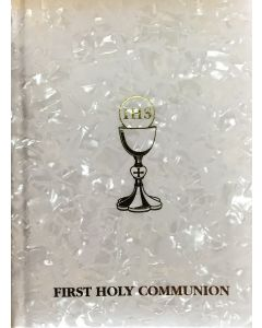 Communion book pearlized