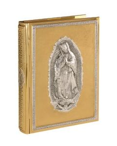 Book of the Gospel Cover Our Lady of Guadalupe