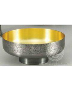 Silver Oxidized Open Ciboria