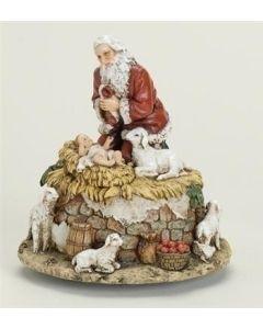Musical Kneeling Santa