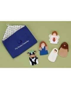 "6PC ST 3""FINGER NATIVITY FIGS"
