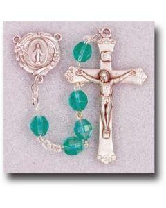 Rosary- Emerald Aurora Borealis