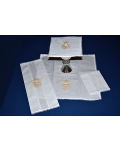Lace Edged Mass Linen with Holy Spirit