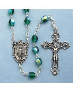 Emerald Crystal Rosary