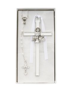Communion Cross/Rosary Set