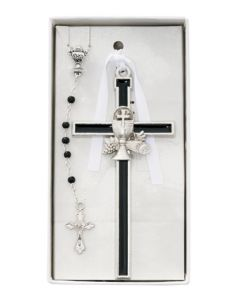 Communion Wall Cross/Rosary